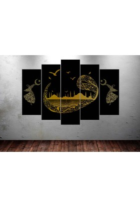 Caddeko Djn3 Vav Semazen İstanbul Kanvas Tablo 70 x 100 cm