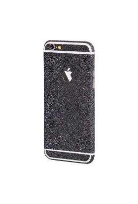 Marca Teknoloji Apple iPhone 6S Siyah Renk Simli Koruyucu Kaplama
