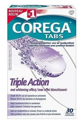 Corega 3 Etkili Tablet 30 Lu (Yeni)