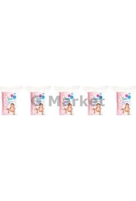İpek Maxi Bebek Temizleme Pamuğu 60'Lı 5 Paket