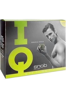 Snob Iq Edt 100 Ml + 150 Ml Deodorant Erkek Parfüm Set
