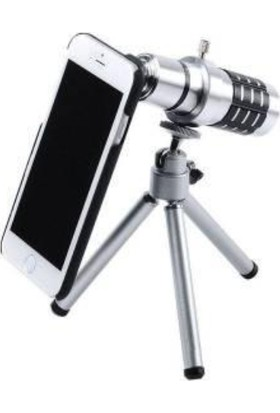 Markacase Apple iPhone 5-5S Birebir Kılıflı 18X Zoom Teleskop Telefon Kamera Lensi