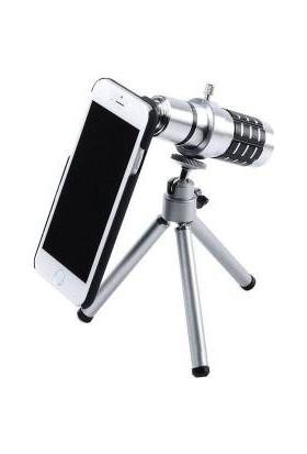 Markacase Apple iPhone 7 Birebir Kılıflı 18X Zoom Teleskop Telefon Kamera Lensi