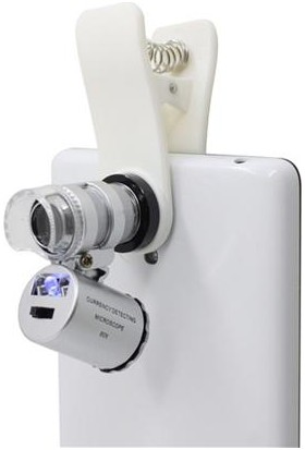 Markacase Apple iPhone 7 - 7 Plus 60X Mikroskobik Büyüteç Lens Mobile Lupe