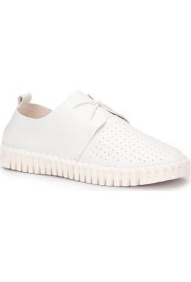 Dockers 220731 Beyaz Kadın Ayakkabı