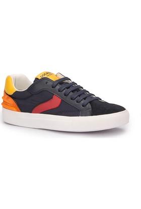 Dockers 222250 Lacivert Turuncu Kırmızı Erkek Çocuk Ayakkabı