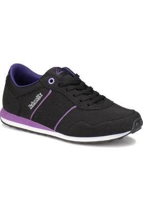 Kinetix Bailey W Siyah Mor Kadın Sneaker