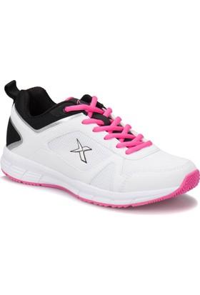 Kinetix Robus W Beyaz Siyah Koyu Pembe Kadın Fitness Ayakkabısı