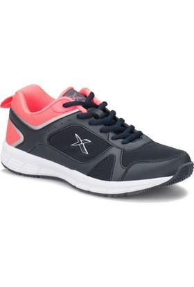 Kinetix Robus W Lacivert Beyaz Neon Pembe Kadın Fitness Ayakkabısı