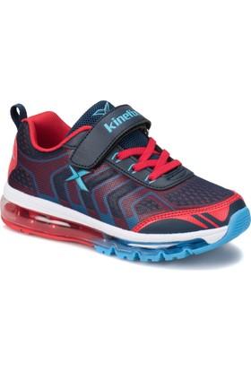 Kinetix Temora Lacivert Kırmızı Koyu Mavi Erkek Çocuk Sneaker