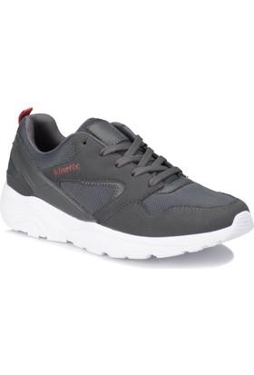 Kinetix Worken Gri Kırmızı Erkek Sneaker