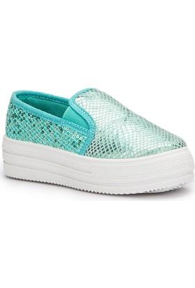 Pink Step Sony Mint Kız Çocuk Ayakkabı