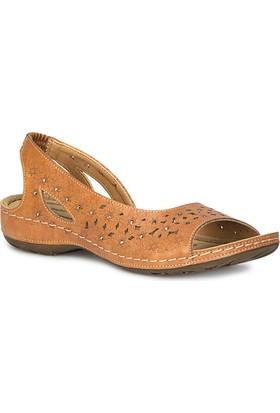 Polaris 71.157363.Z Taba Kadın Sandalet