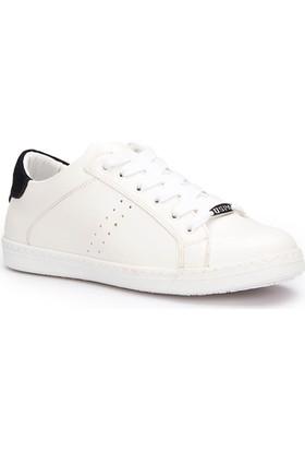 U.S. Polo Assn. Messina Beyaz Lacivert Kadın Sneaker