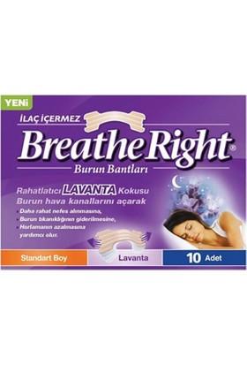 Breathe Right Burun Bantları Standart Boy Lavanta 10 Adet