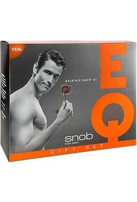 Snob Eq Edt 100 ml + 150 ml Deodorant Erkek Parfüm Set