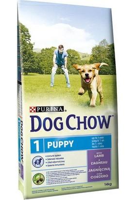 Dog Chow Purina Yavru Köpekler İçin Kuzu Etli Köpek Maması 14 Kg