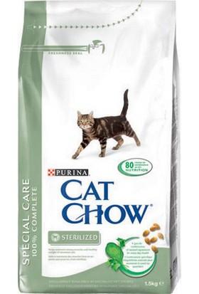 Cat Chow Purina Kısırlaştırılmış Kediler İçin Kedi Maması 15 Kg