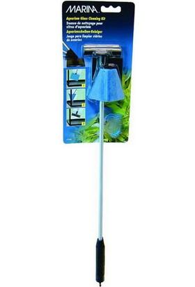 Marina Akvaryum Cam Temizleme Kiti (Kazıyıcı+Köşe Pedi)