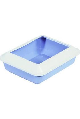 Catit Siperli Kedi Tuvalet Kabı Büyük Boy Mavi
