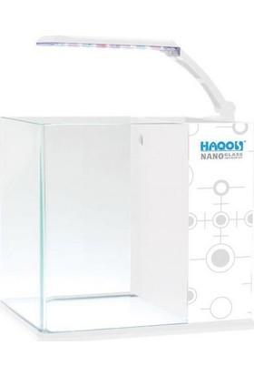 Haqos Cube Box Nano Akvaryum White