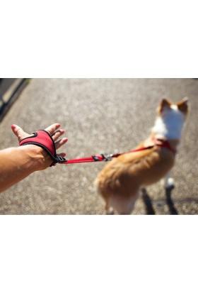 Ezydog Leashes Handy Leash Köpek Gezdirme Eldiveni (Kırmızı)