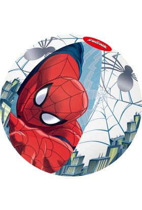 Bestway Disney Pixar Ultimate Spider-Man Beach Ball - Spiderman Şişme Havuz Ve Deniz Topu 51 Cm