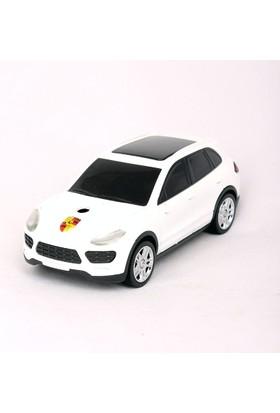 Zhong Liang Porsche Jeep Şeklinde Masaüstü Metal Çakmak Beyaz