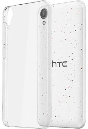 Microcase Htc Desire 825 Ultra İnce Silikon Kılıf+Tempered Cam