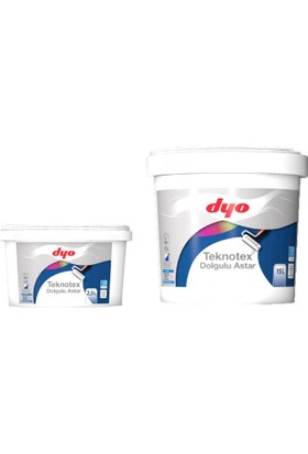 Dyo Teknotex Dolgulu Dış Cephe Astarı 7,5 Litre Beyaz