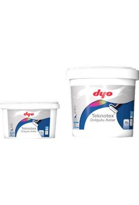 Dyo Teknotex Dolgulu Dış Cephe Astarı 2,5 Litre Beyaz