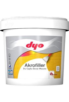 Dyo Akrofiller Dış Cephe Macunu 4,5 Kg Beyaz