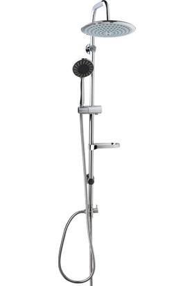 İtimat Omega 401D Çift Başlı Kombine Duş Seti