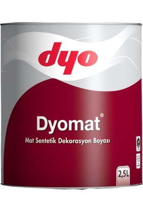 Ennalbur Dyomat Mat Dekorasyon Boyası 2,5 Litre