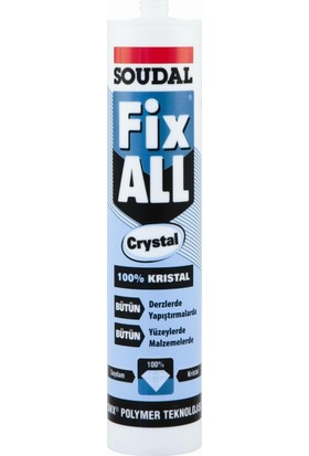 Soudal Fix All Crystal 290 Ml Kartuş