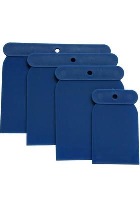 Ennalbur Partner 14121 Plastik Macunlama Takımı 4 Parça