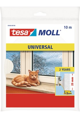 Tesa tesamoll® Universal PUR Foam 10m*25mm, white