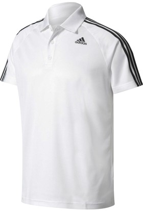Adidas Bk2602 D2M 3S Polo Erkek Training Polo T-Shirt