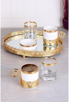 Queen's Kitchen Şehzade 2 Kişilik Lüx Kahve Takımı