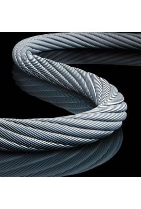 Ennalbur Çelik Halat 8 Mm 1 Metre 6X7