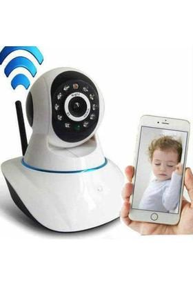 Mastek Gece Görüşlü 360 Derece Bebek Bakıcı İp Kamera
