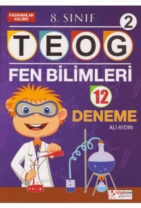 Bilgikare Yayınları 8. Sınıf TEOG 2 Fen Bilimleri 12 Deneme - Ali Aydın