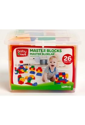 Baby&Toys Master Blocks 26 Parca