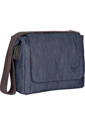 Lassig Green Label Small Messenger Bag Update Denim Blue