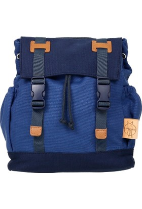 Lassig Vintage Little One & Me Backpack Small Blue