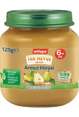 Milupa Tek Meyve Armut Püreli Kavanoz Maması 125 gr