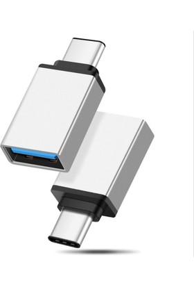 Zen-Çelik Usb Type-C Yi Usb3.0 A Dönüştürür Otg Çevirici Dönüştürücü