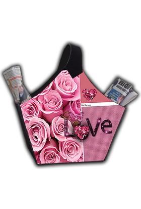 Melay Love Pembe Güllü Gazetelik
