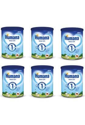 Humana 1 Metal Kutulu Bebek Sütü 800 gr - 6'lı