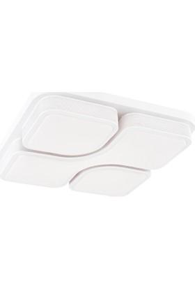 Avize Marketim Rio Küçük Led Plafonyer Avize ( Beyaz)